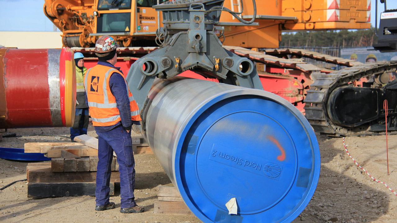 Nový plynovod Nord Stream 2 povede z Ruska do zemí Evropské unie po dně Baltského moře.