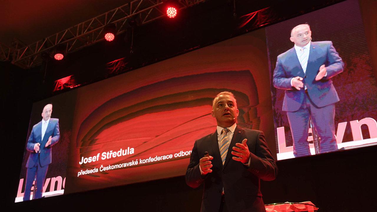 Musí se to změnit: Šéf českých odborářů Josef Středula upozorňuje, že firmy s evidencí odpracovaných hodin často podvádějí.