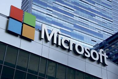 Akcie Microsoftu loni stouply zhruba o třetinu díky růstu zájmu o cloudové služby. Ilustrační foto.
