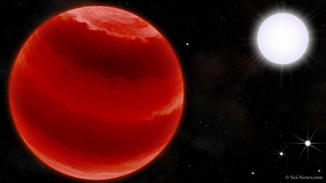 Vesmírné těleso TOI-503b je podle ústavu prvním hnědým trpaslíkem potvrzeným ondřejovskou hvězdárnou.