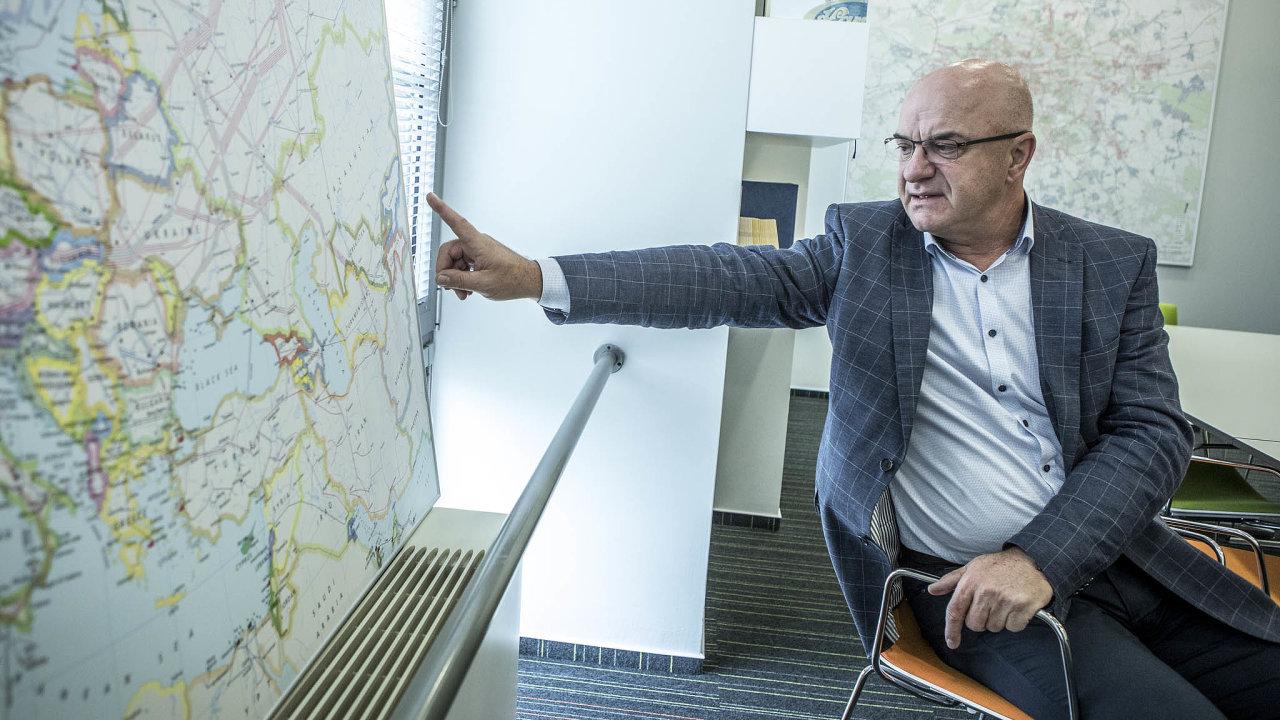 Předseda rady Českého plynárenského svazu Martin Slabý