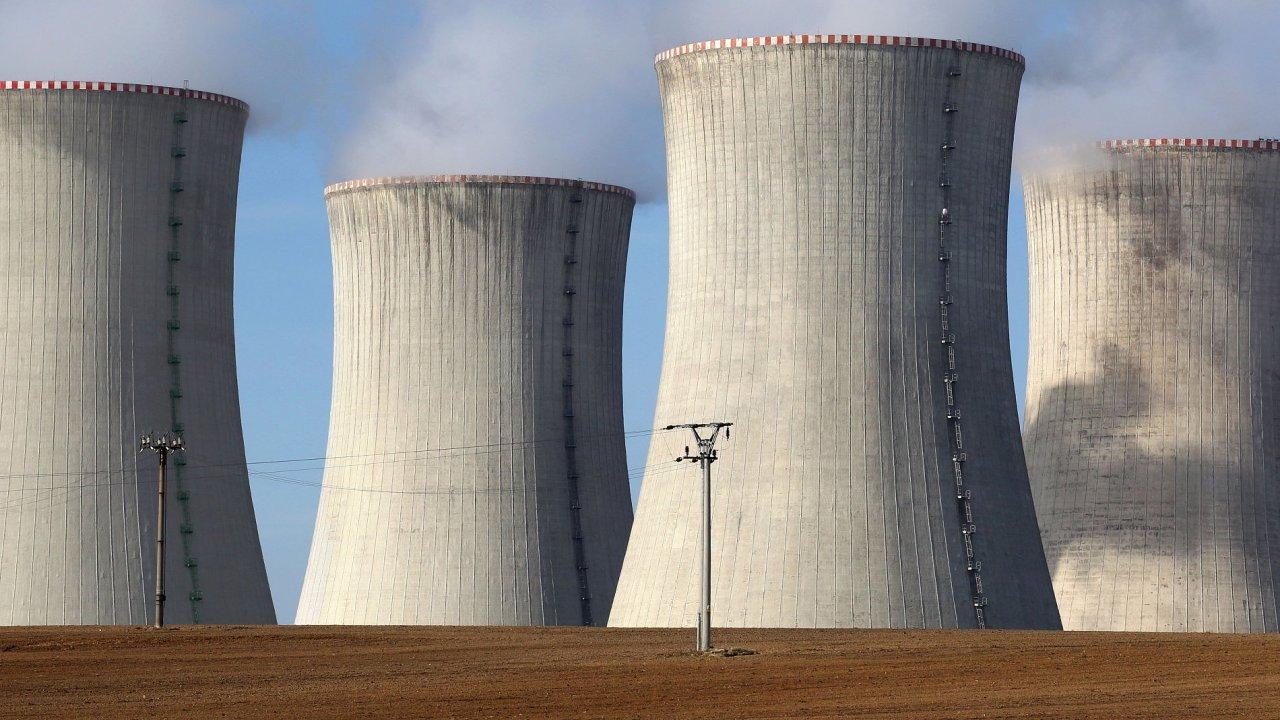 Jaderná elektrárna - Ilustrační foto.
