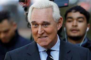 Roger Stone, bývalý poradce amerického prezidenta Donalda Trumpa.