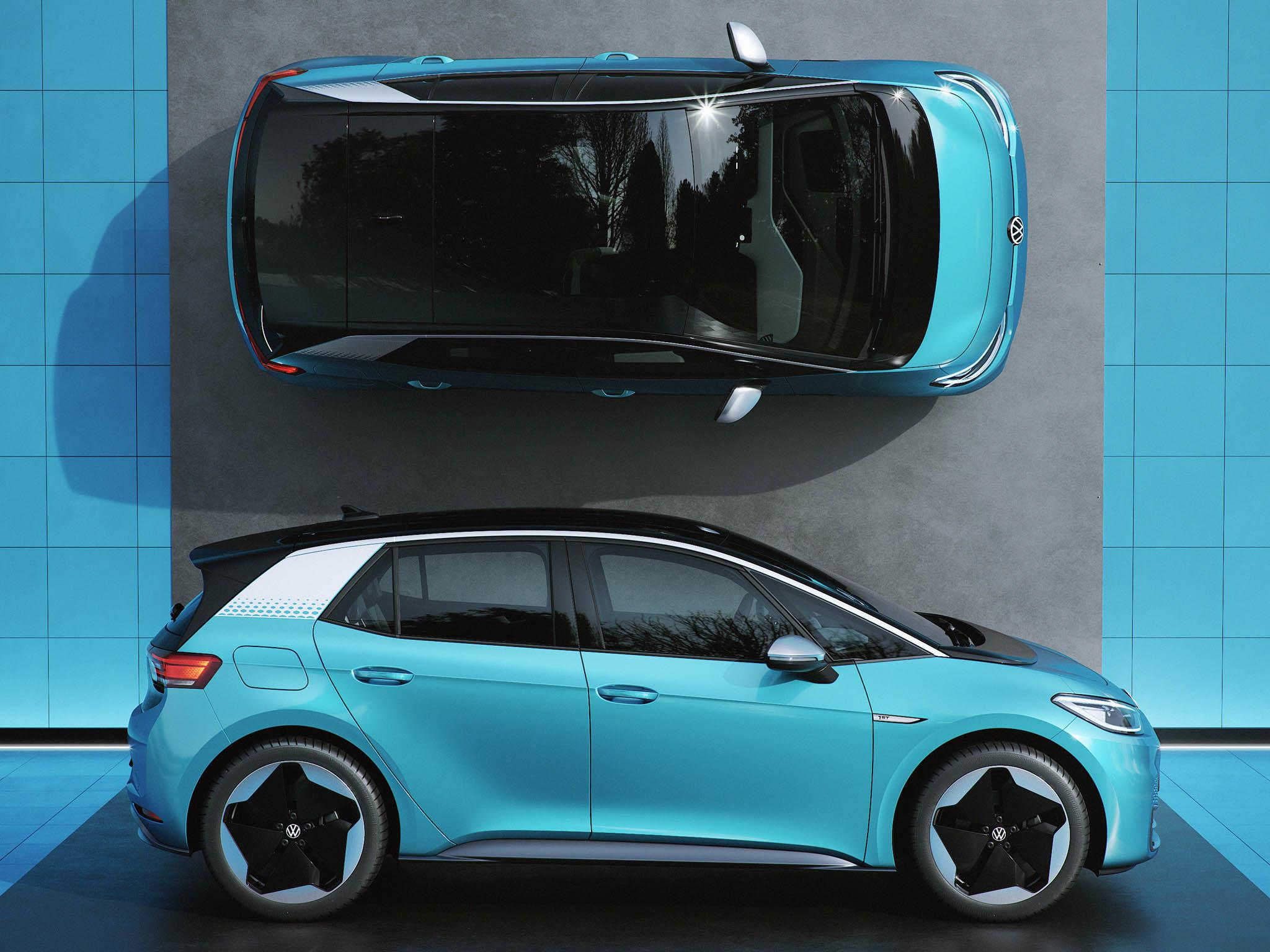 Elektromobil VolkswagenID.3.