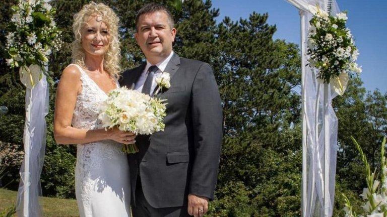 Hamáček svatba
