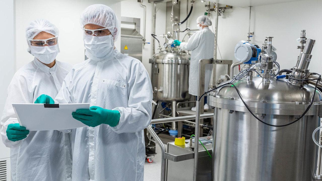 CureVac patří mezi několik společností, jejichž šance nauvedení účinné vakcíny natrh se považují zavysoké. Na snímku laboratoře firmy.