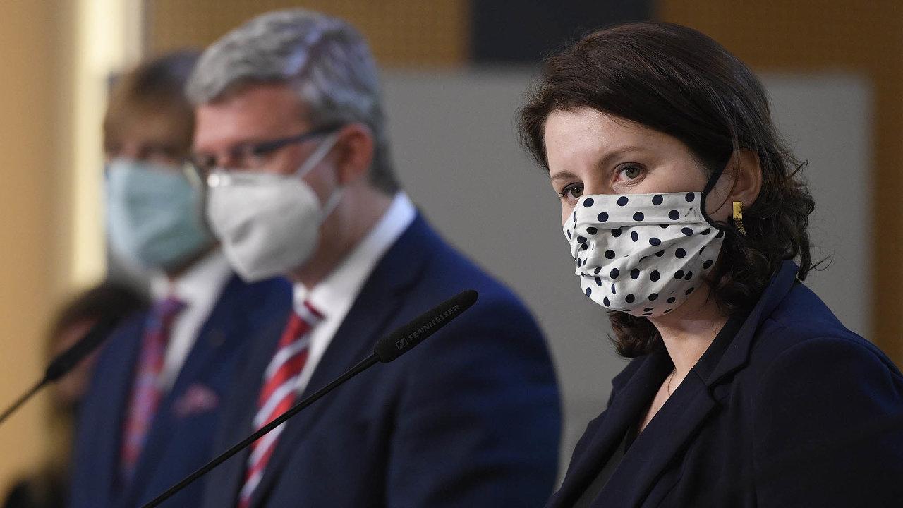 Ministryně Maláčová stále nenašla s ministrem Havlíčkem shodu na podobě takzvaného kurzarbeitu.