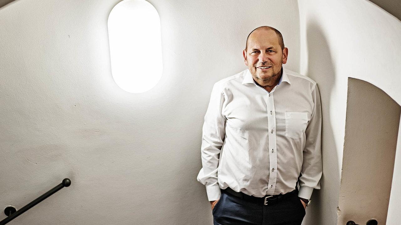 Profesor ekonomie Michal Mejstřík