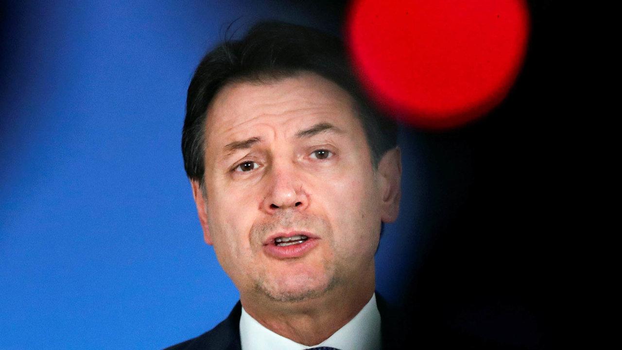 Šéf kabinetu: Právník Giuseppe Conte je předsedou italské vlády odroku 2018.