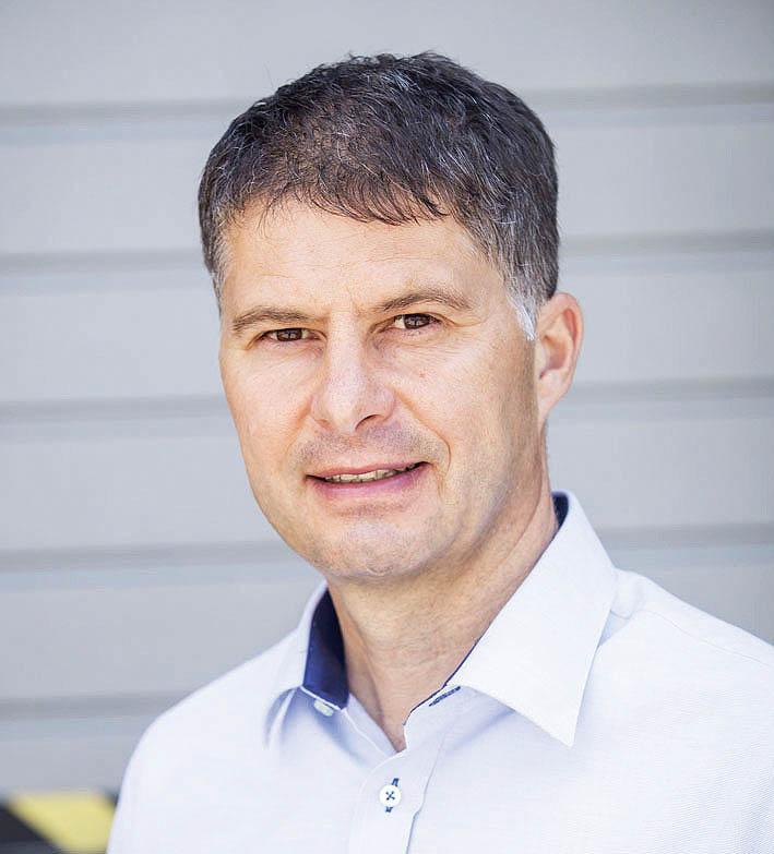 Ředitel české pobočky DBSchenker Tomáš Holomoucký
