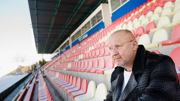 Prezident příbramského fotbalového klubu Jaroslav Starka