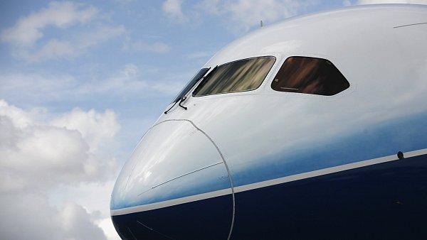 Předek letadla Boeing 787 Dreamliner, ilustrační foto