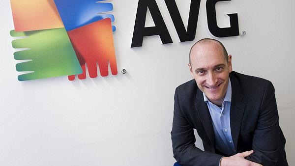 Generální ředitel AVG Technologies J. R. Smith
