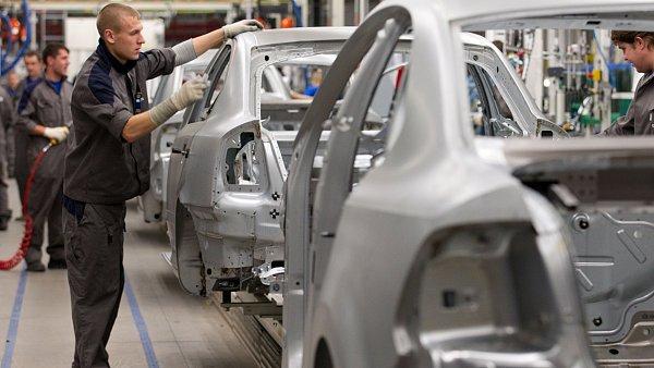 Pásová výroba ve Škodě Auto