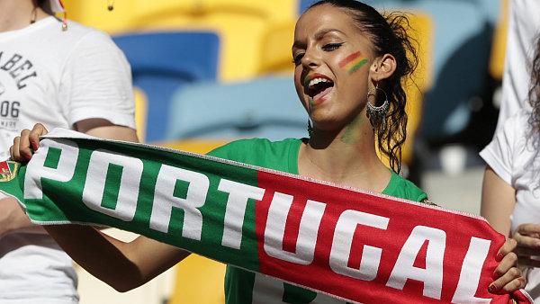 Portugalská fanynka
