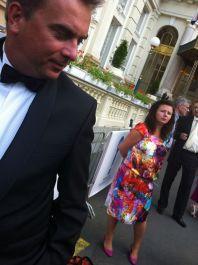 Marek Daniel oslavil festival v Karlových varech po svém