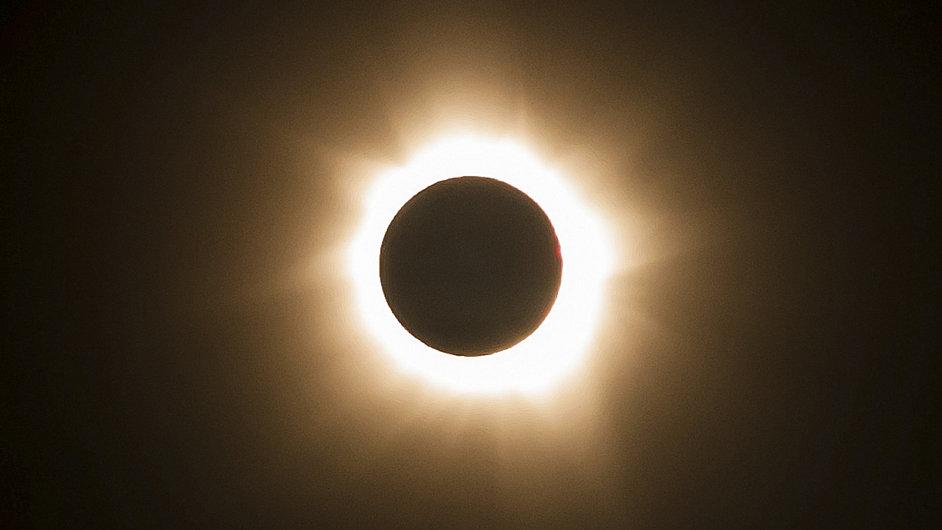 Zatmění Slunce v Austrálii.