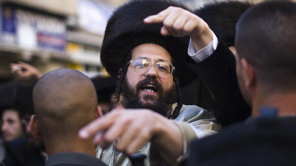 Ultraortodoxní žid. Ilustrační foto