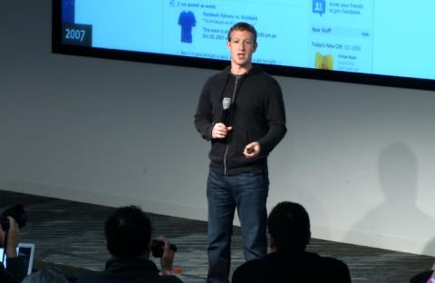 Představení nové podoby Facebooku