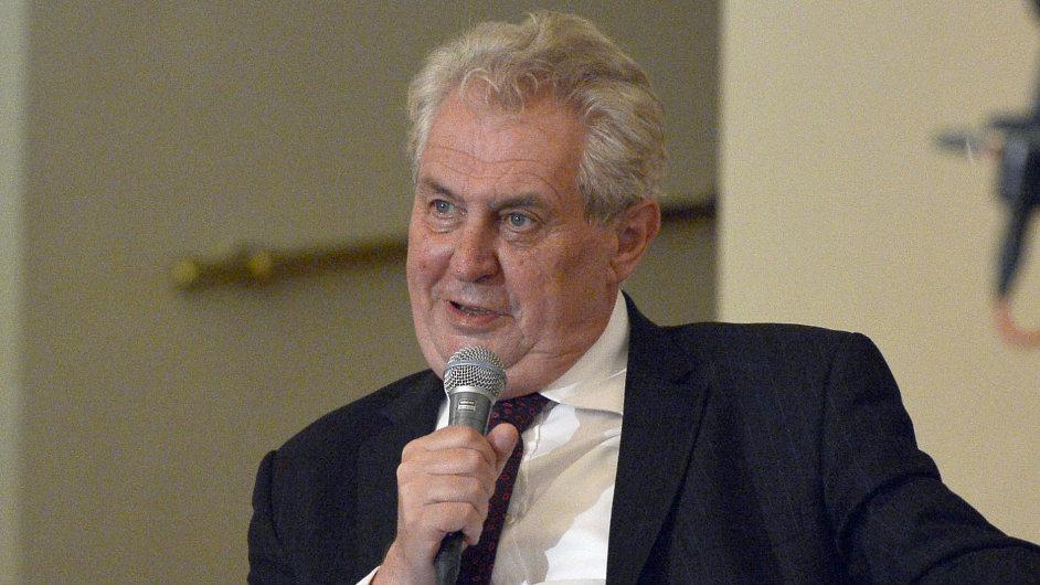 Prezident Zeman na Žofínském fóru