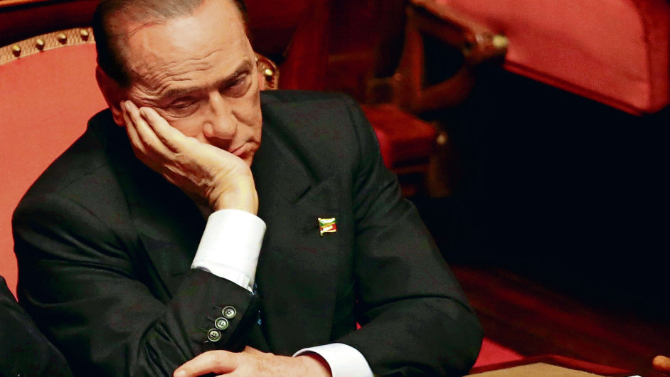 Italský expremiér Silvio Berlusconi