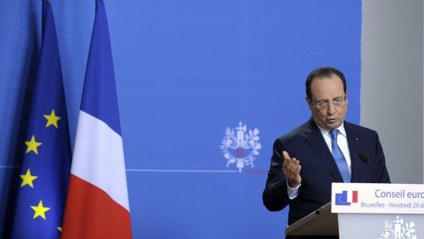 Francouzsk� prezident Francois Hollande.