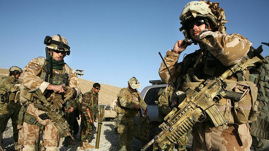 Vojáci v Afghánistánu, ilustrační foto