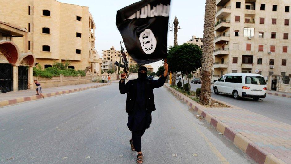 Bojovník Islámského státu, ilustrační foto