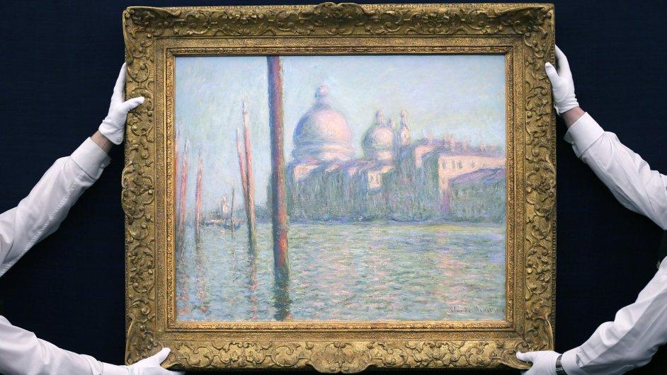 Monetův Velký kanál.