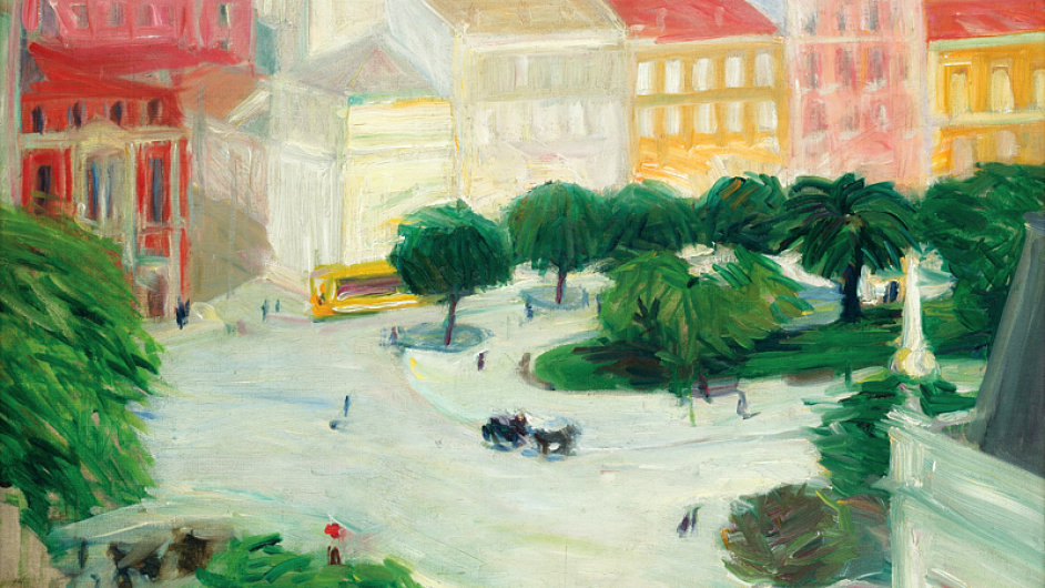 Plátno Georgese Karse V Lisabonu se vydražilo za 3 150 000 korun.
