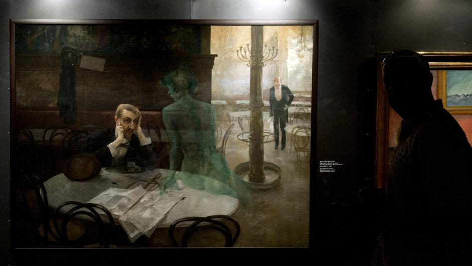 Snímky z výstavy Tajemné dálky