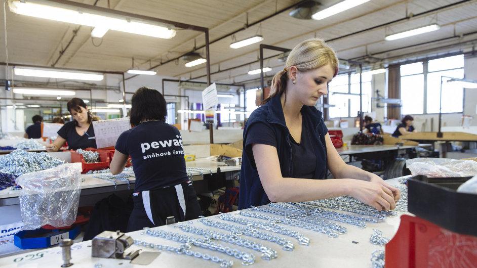 Řetězárna Pewag postaví ve východních Čechách dva závody za 800 milionů.