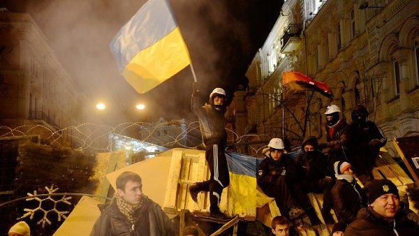 Ukrajinské protesty - Ilustrační foto.
