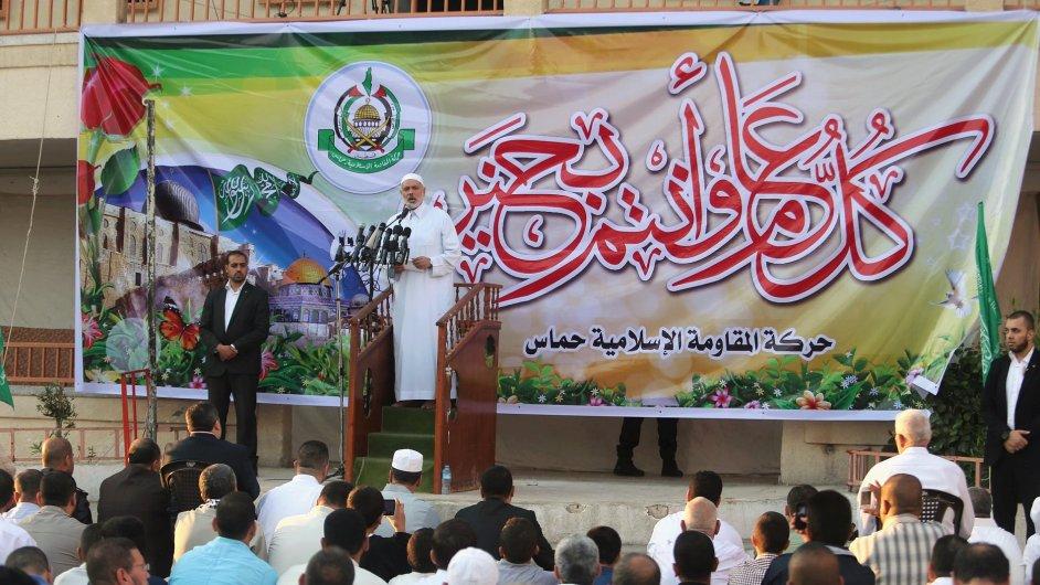 Jeden z vůdců hnutí Hamas Ismail Haniyeh