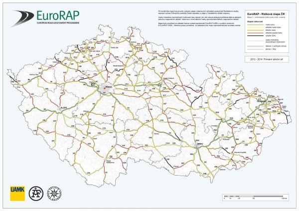 silnice eurorap, silnice smrti, mapa