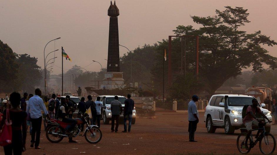 Hlavní město Středoafrické republiky Bangui