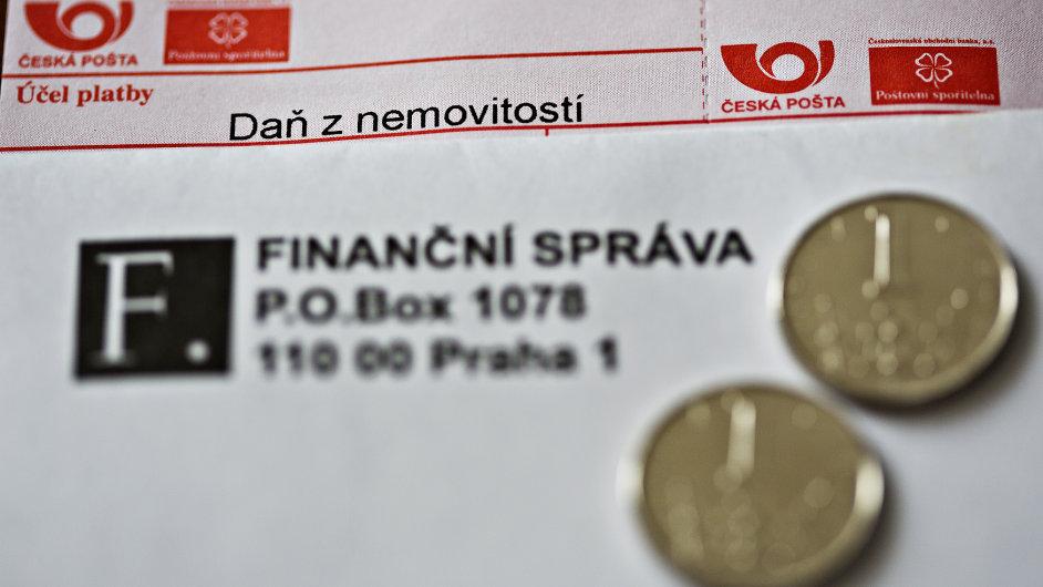 složenka, daně, česká pošta