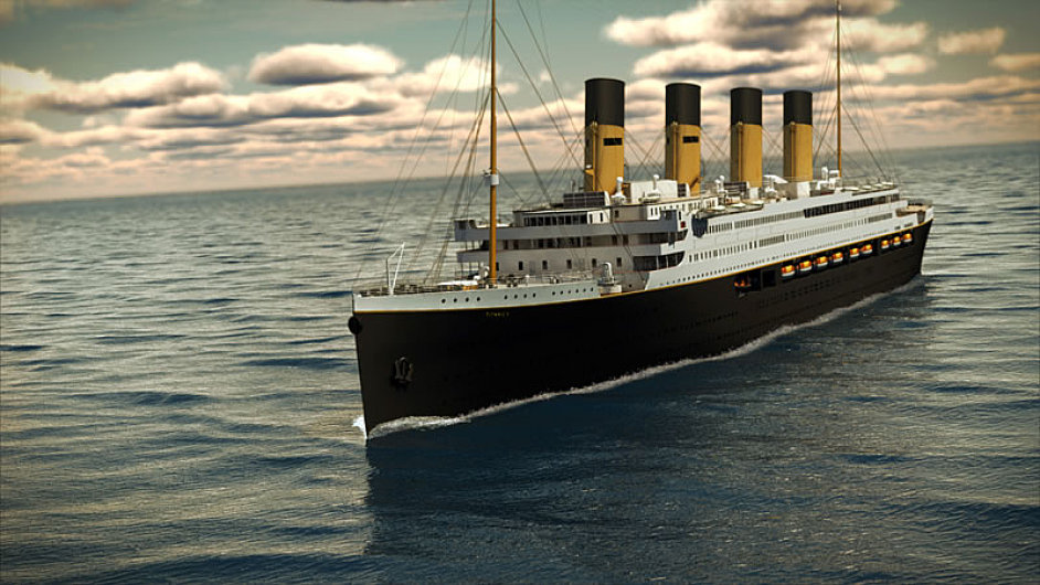 Věrná replika Titanicu by měla vyrazit na svoji první plavbu v roce 2018.