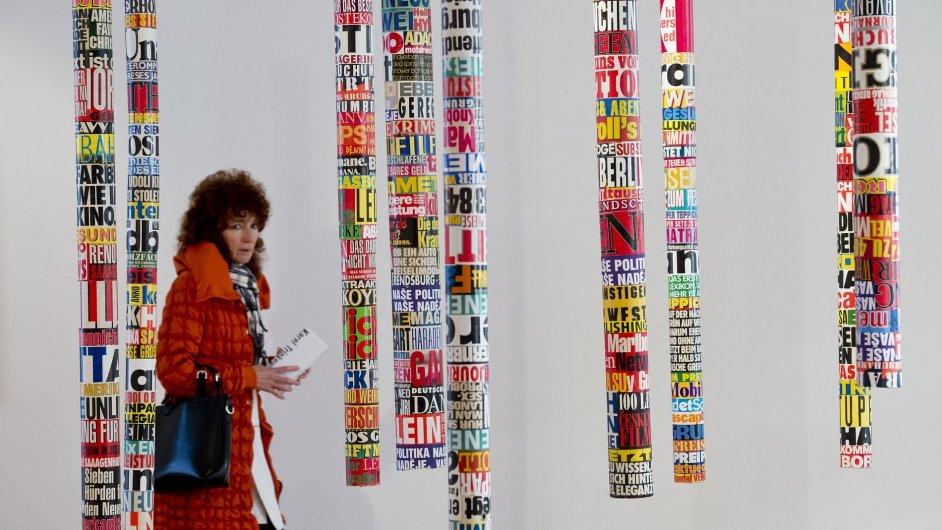 Snímek z výstavy Karla Trinkewitze