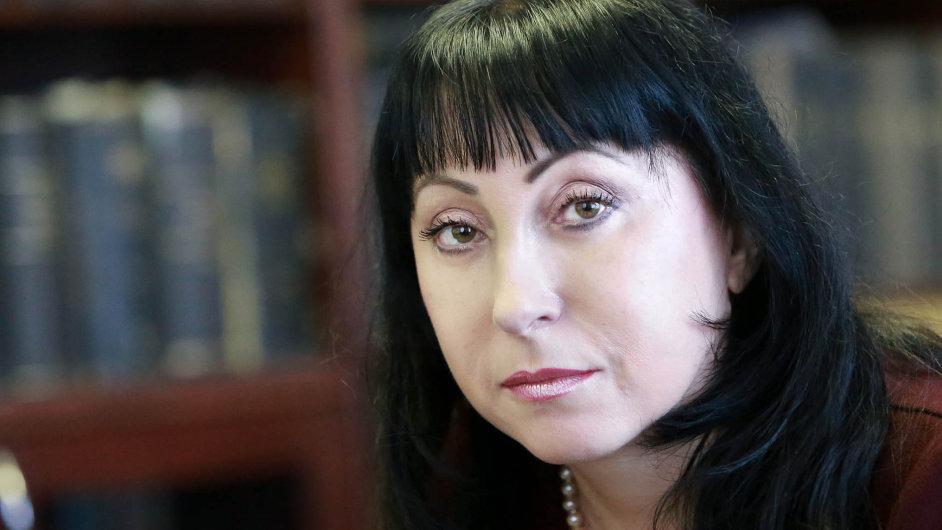 Eva Michálková, ředitelka Úřadu dokumentace a vyšetřování zločinů komunismu