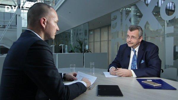Bývalý ministr obrany Jaroslav Tvrdík v rozhovoru pro DVTV.