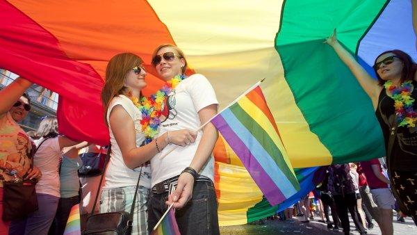 Průvod hrdosti homosexuálů - ilustrační foto