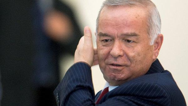 Uzbecký prezident Islam Karimov na snímku z roku 2009.