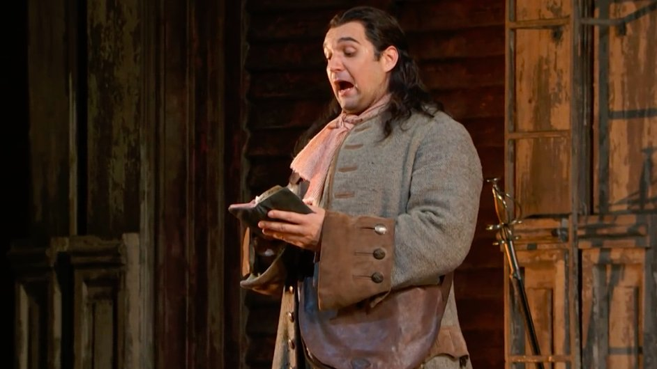 Adam Plachetka na snímku z inscenace Dona Giovanniho v newyorské Metropolitní opeře.