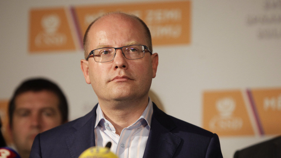Bohuslav Sobotka mezi spolustraníky