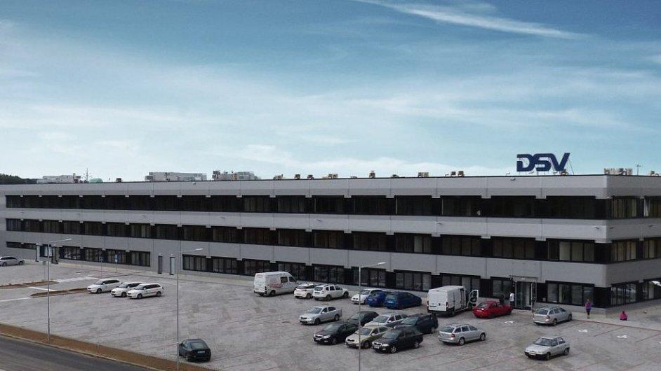 Logistické centrum DSV, nejlepší průmyslová stavba roku 2016.