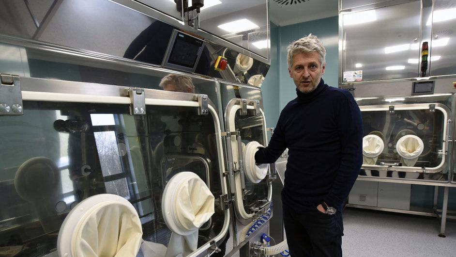 Michal Zahradníček - majoritní vlastník biotechnologické firmy Prime Cell v inkubátoru 4Medi.
