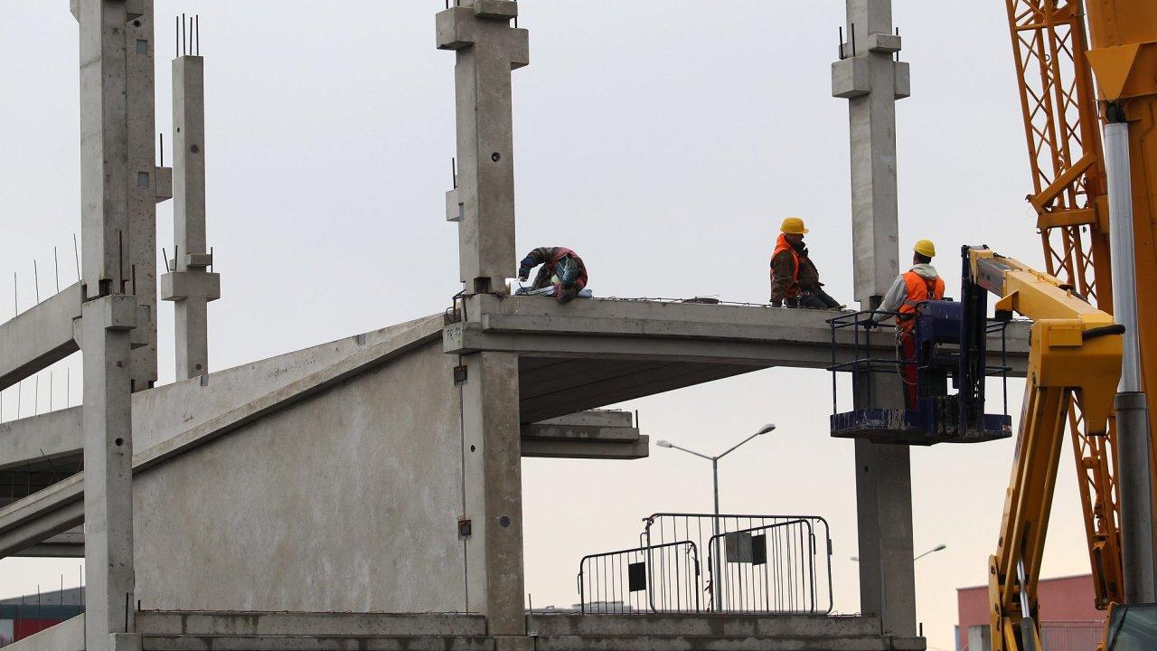 Stavebnictví, ilustrační foto