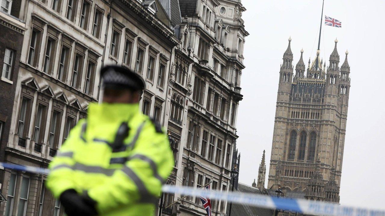 Londýn, útok, terorismus, policie, britská policie