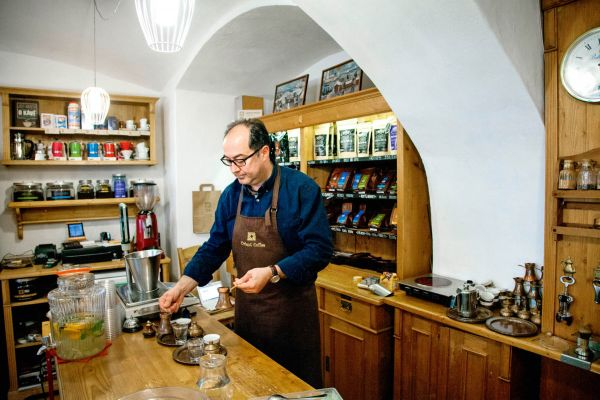 Kavárník Goran Jozić